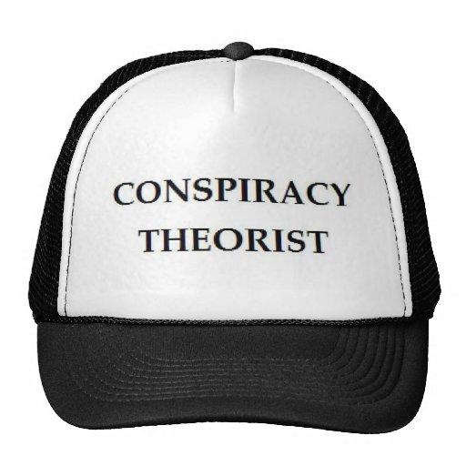 Théoricien de conspiration casquette