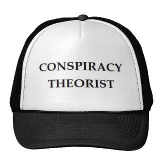 Théoricien de conspiration casquettes de camionneur