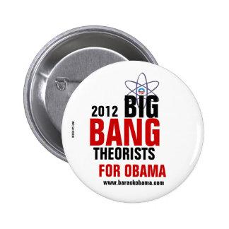 Théoriciens de Big Bang pour Obama Badge