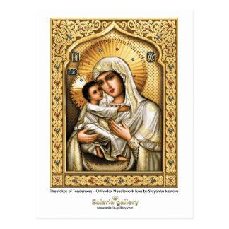 Theotokos de tendresse - carte postale