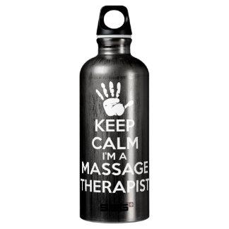 Thérapeute de massage - gardez le calme