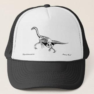 Therizinosaurus de casquette de dinosaure par