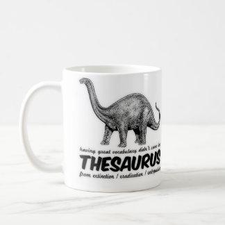 Thésaurus éteint mug
