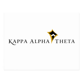 Thêta d'alpha de Kappa Carte Postale