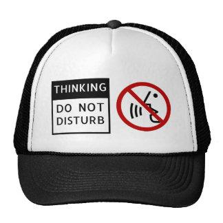 THINKING/DO NE PAS DÉRANGER CASQUETTE