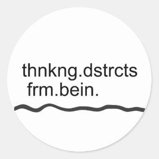 thnkng.dstrcts.frm.bein plus sticker