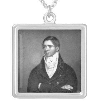Thomas Belcher, gravé par Charles Turner, 1814 Pendentif Carré