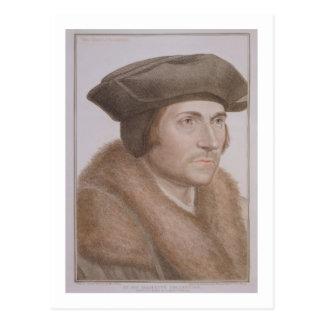 Thomas davantage, seigneur chancelier (1478-1535) carte postale