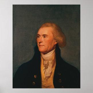 Thomas Jefferson Affiche