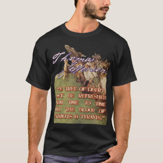 Thomas Jefferson l'arbre de la liberté T-shirt