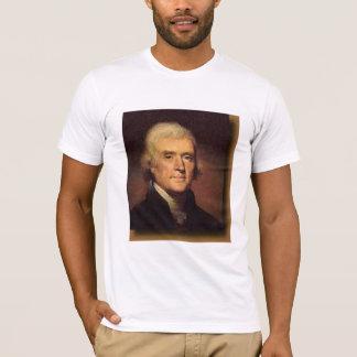 Thomas Jefferson, nos amitiés… - customisé T-shirt