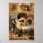 Thomas Keene en Richard III Affiches