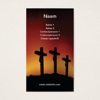 Three crosses cartes de visite