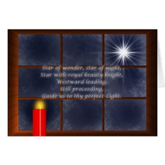 Thy carte de Noël légère parfaite