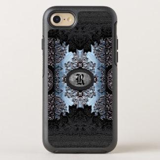 Thym gothique unique de monogramme d'ombre de coque otterbox symmetry pour iPhone 7