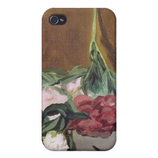 Tige de Manet | des pivoines et des sécateurs, Coque iPhone 4
