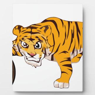 tiger4 plaque photo