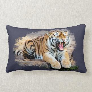 Tiger coussin en polyester 33 cm x 53 cm