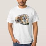 Tiger T-shirt Blanc