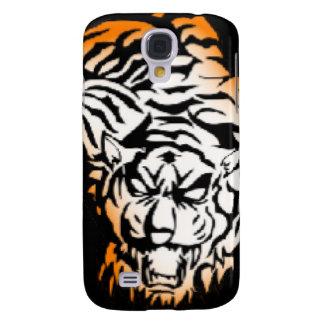 Tiger tribal coque galaxy s4