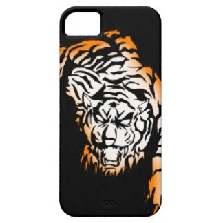 Tiger tribal coque iPhone 5 Case-Mate