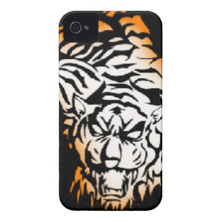 Tiger tribal coques iPhone 4 Case-Mate