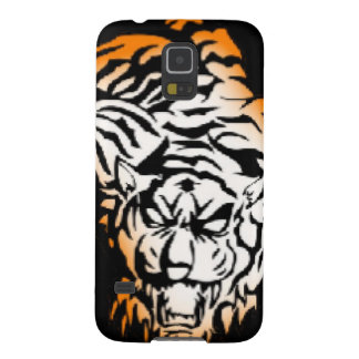 Tiger tribal coques pour galaxy s5