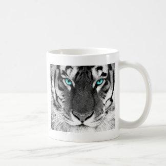 Tigre blanc noir mug
