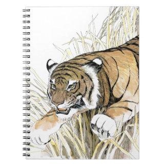 Tigre Carnet À Spirale