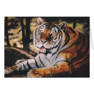 """""""Tigre """" Cartes"""