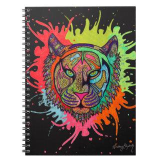 Tigre d'arc-en-ciel carnet