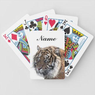 Tigre de Bengale Cartes À Jouer