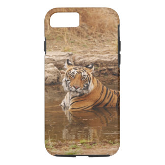Tigre de Bengale royal dans l'étang de jungle, 2 Coque iPhone 7