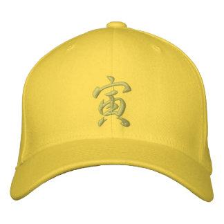 Tigre de casquette de zodiaque de kanji
