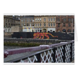 tigre de Glasgow Cartes