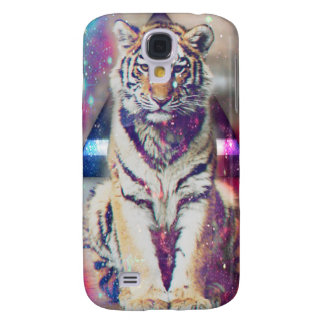 Tigre de hippie - art de tigre - tigre de triangle coque galaxy s4