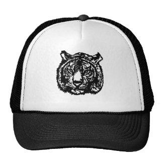 Tigre de silhouette casquette trucker