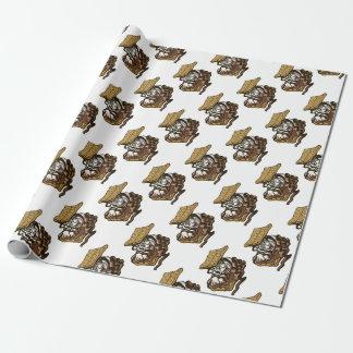 Tigre de Smore Papiers Cadeaux Noël