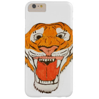 Tigre d'hurlement coque barely there iPhone 6 plus