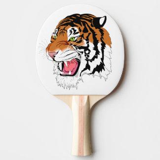 Tigre d'hurlement raquette tennis de table