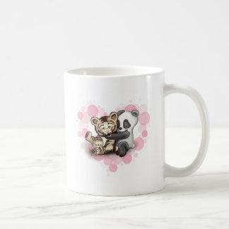 Tigre et panda mug