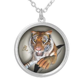 Tigre et pendentif chinois de symbole