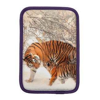 Tigre et petit animal - tigre housse iPad mini