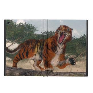 Tigre hurlant - 3D rendent