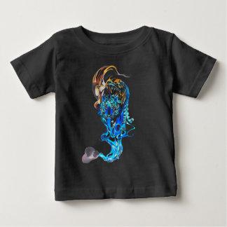 tigre rêveur t-shirt pour bébé
