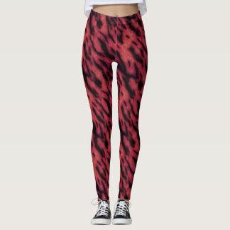 Tigre rouge leggings