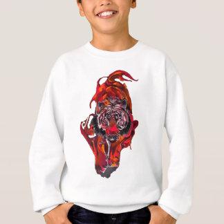 Tigre rouge sweatshirt