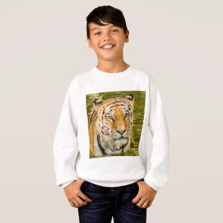 tigre sur le sweatshirt de Hanes ComfortBlend des
