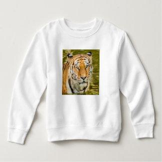 tigre sur le sweatshirt d'ouatine d'enfant en bas