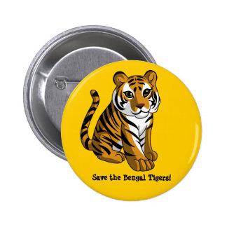 Tigres de Bengale Badge